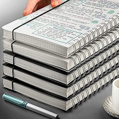 ZJF Cuaderno A5 Mini Notebook Estudiante Protección de Ojos Bobina Hand Ledger Reunión de Negocios Estudiante Cuaderno1PC (Color : B5 4 pcs notebooks T, tamaño : Other)