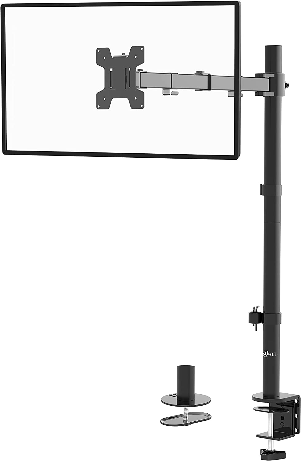WALI Extra Tall Single LCD Monitor Mount Fully Desk F Adjustable Sale Outstanding item