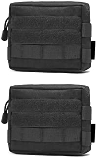 TRIWONDER Tactical Molle Pouch, EDC Utility Pouch Bags Wallet Pouch Waist Bag Pack Outdoor Accessory Bag for Backpack Mili...