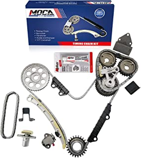 MOCA Engine Timing Chain Kit for 2001-2004 Chevrolet Tracker & 1999-2005 Suzuki Vitara XL-7 2.5L 2.7L V6 24V DOHC H25A H27A