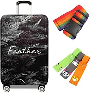 Suitcase Cover 18-32 Inch High Elastic Suitcase Protective Cover Trolley Case Home Waterproof Anti-Theft Dust Protection C...
