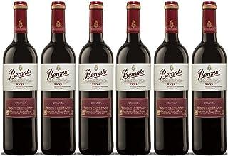 Beronia Crianza Vino D.O.Ca. Rioja - 6 Botellas de 750 ml -