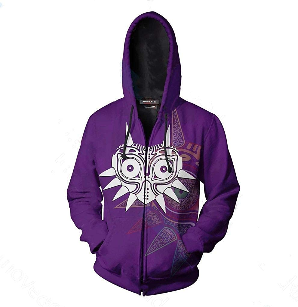 Mens Special price Zelda Hoodies Link Sweatshirt Fashion Very popular Pullover Print Maj 3D