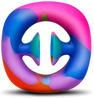 Rainbow Fidget Snappers Toy, Squeeze, Grab, Snap, Sensory, Party Popper Noise Maker Stress Relief Pop Pops Click Finger Se...