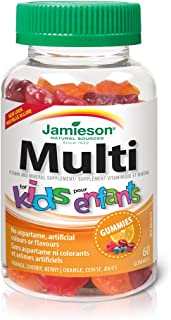 Jamieson Kids Multi Gummies - 60 Unidades