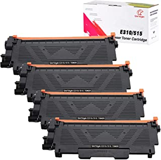 Best Univirgin Compatible Toner Cartridge Replacement for Dell E310 for use in Dell Wireless Monochrome E310dw E514dw E515dw E515dn Printer(Black,4-Pack) Review