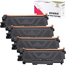 Univirgin Compatible Toner Cartridge Replacement for Dell E310 for use in Dell Wireless Monochrome E310dw E514dw E515dw E515dn Printer(Black,4-Pack)