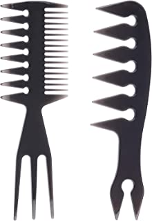 Hair Comb Styling Set Tail Combs Double Side Brushes Afro Pick Pik Comb African American Hair Brush Barber Hairstylist Accessories
