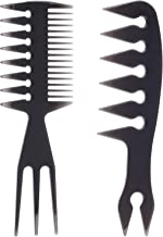 Hair Comb Styling Set Tail Combs Double Side Brushes Afro Pick Pik Comb African American Hair Brush Barber Hairstylist Acc...