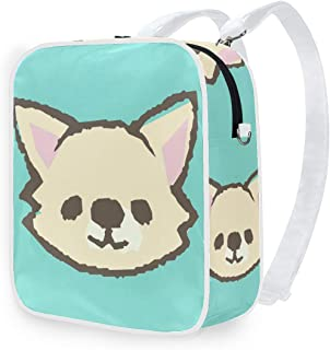 DEZIRO - Mochila de hombro para perro, diseño de perro