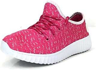 Navig8t Sneakers Knit Stretch Light Weigth Comfort Lace Up Girls Boys