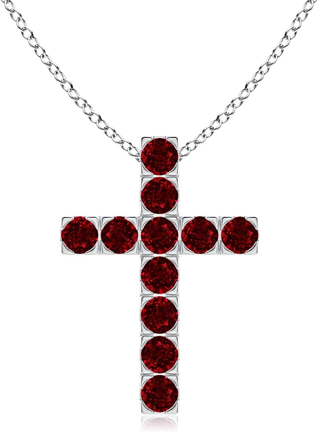 Cross pendant 2 variants with crystals or handmade pearls in precision beaded weaving-Moda 2018 Cross pendent