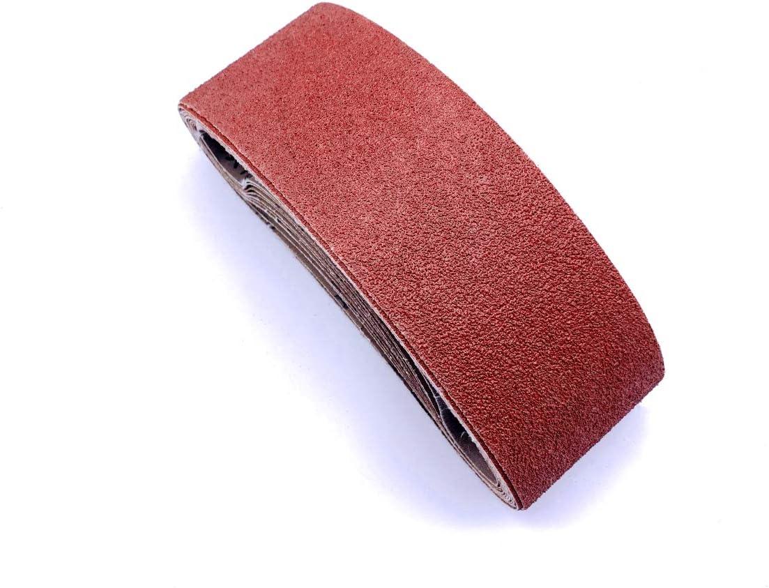 Overseas parallel import regular item Taokyid Sanding Belt 4 x Aluminum Sanderpaper Oxide 80 Credence 21