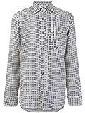 Gucci Luxury Fashion Uomo 521957Z655E4558 Bianco Seta Camicia | Stagione Outlet...