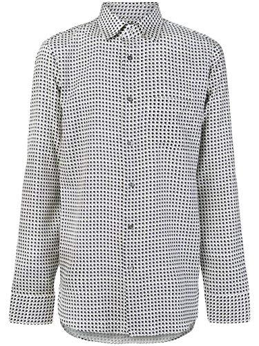 Gucci Luxury Fashion Uomo 521957Z655E4558 Bianco Seta Camicia   Stagione Outlet