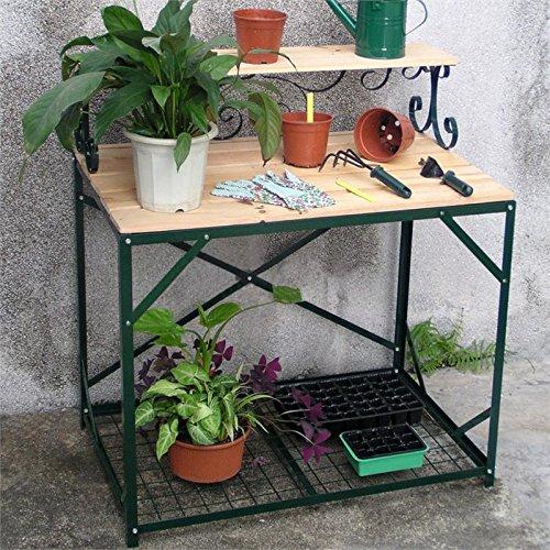 Mesa De Plantas Mesa De Jardín Blum-lado Mesa De Trabajo Jardín Mesas Accesorios De Jardín: Amazon.es: Jardín