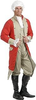 Charades Men's British Red Coat Costume Set