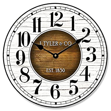 Old Paint Clock, 12 -48 , Whisper Quiet, non-ticking