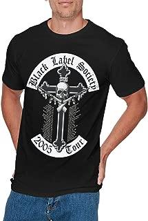 Mens Fashion Black Label Society T-Shirts Black