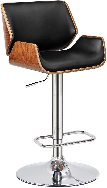 Take Me Home Furniture Aura Adjustable Stool in Black