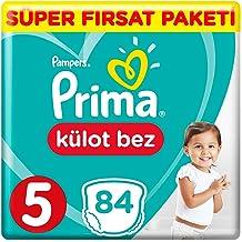 Prima Pants Külot Bebek Bezi, 5 Beden, 84 Adet, Junior Süper Fırsat Paketi