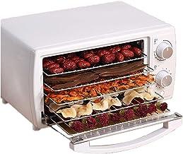 Máquina de conservación de alimentos para el hogar Secador de frutas, temperatura constante Secador de frutas seguro de ahorro de energía de sistema dual inteligente de 5 capas, 260 vatios