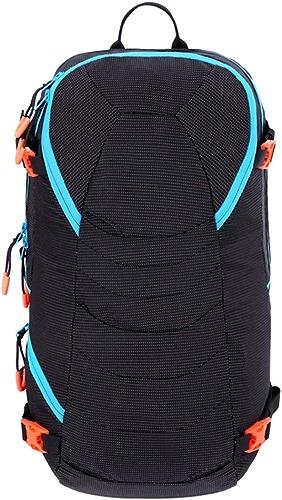 XYW-0006 Sac à Dos pour Alpinisme Sac à Dos pour RandonnéE en Fibre De Polyester + Nylon Noir Orange Hommes Et Femmes 20 L