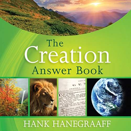 The Creation Answer Book audiobook cover art
