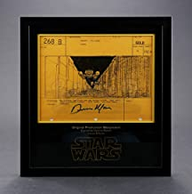 STAR WARS - EP IV - A NEW HOPE-Dennis Muren-Signed Original Production Storyboard - Y-Wings Move Through Trench