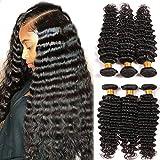 Dai Weier Brazilian Deep Wave Bundles 7a Virgin Hair Prime Real Hair Extensions Remy Human Weave Extension Same Day...