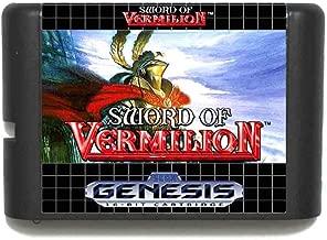 ROMGame Sword Of Vermilion 16 Bit Md Game Card For Sega Mega Drive For Genesis