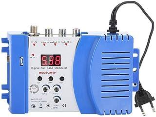 Diyeeni Digital RF Modulador AV-RF AV-TV, Convertidor VHF UHF 110-240V(EU)