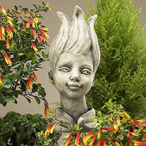 Blumenkind Flower Child Cast Stone Tulip