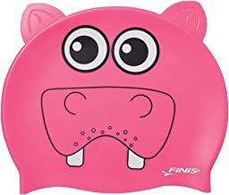 Finis Animal Heads Shaped Silicon Caps,Pink