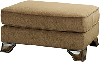 Ashley Furniture Signature Design - Montgomery Ottoman - Traditional Style - Mocha Brown