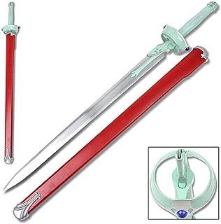 Top Swords Sword Art Online Lambent Light Asuna Yuuki Rapier Carbon Steel Replica