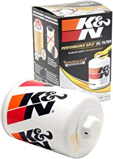 K&N Premium Oil Filter: Designed to Protect your Engine: Fits Select JAGUAR/LAND ROVER/LINCOLN/FORD Vehicle Models (See Product Description for Full List of Compatible Vehicles), HP-1014