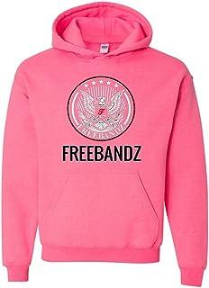 freebandz – mejor venta música serie unisex sudadera con capucha sudadera