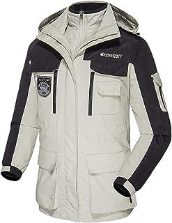 52e867e5cbbe June Outdoor Waterproof Mountaineering Pizex Jackets Cold Windbreaker Coats