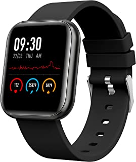 Helix Timex Metalfit SPO2 smartwatch with Full Metal Body and Touch to Wake Feature, HRM, Sleep & Activity Tracker, 10 Day...