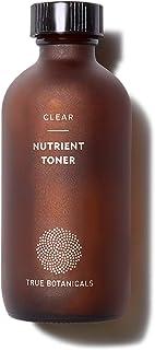True Botanicals - Organic CLEAR Nutrient Face Toner   Clean, Non-Toxic, Natural Skincare (4 fl oz   120 ml)