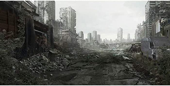 Amazon Com Dashan 16x8ft The End World Backdrop Destroyed City Ruins Photography Background Collapsed Buildings Halloween Party Disaster Theme Party Decor Kids Adult Portrait Photo Shoot Studio Props Camera Photo