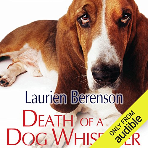 Death of a Dog Whisperer audiobook cover art