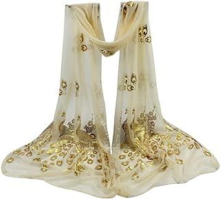 livraison rapide Mesdames femmes long foulard de soie col châle Wrap 10 couleurs uk vendeur
