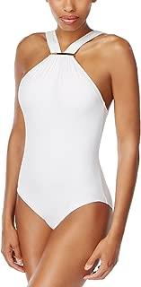 MICHAEL Michael Kors High-Neck One-Piece Swimsuit