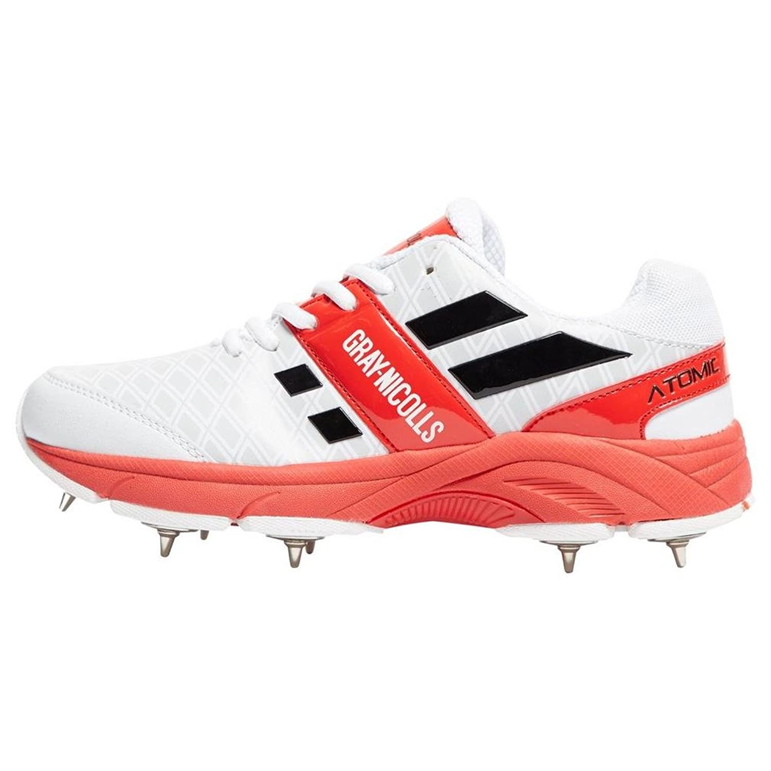 (5 UK) - Grey-Nicolls Atomic Cricket Shoes Spike