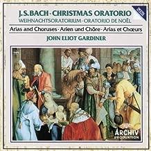 J.S. Bach: Christmas Oratorio / Gardiner [Arias and Choruses] Import Edition (1989) Audio CD