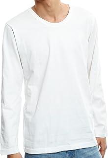 インプローブス Tシャツ 長袖 Uネック Vネック クルーネック カットソー ロンT メンズ