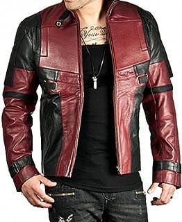 UniLeath Wade DP Biker Real Leather Jacket