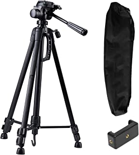 Syvo WT- 3520 (55-Inch) Aluminium Tripod, Universal Lightweight Tripod with Carry Bag for All Smart Phones, Gopro, Cameras...